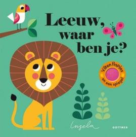 KINDERBOEK | Leeuw waar ben je? (leeftijd 2+)