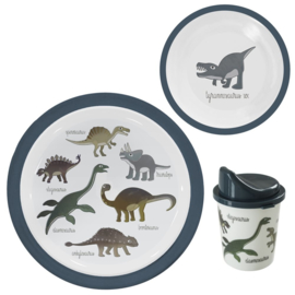 SEBRA KINDERSERVIES DINOSAURUSSEN SET