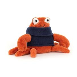 JELLYCAT | Knuffel Cozy Crew Crab- krab