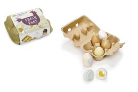 TENDER LEAF TOYS | Eierdoosje met 6 eieren