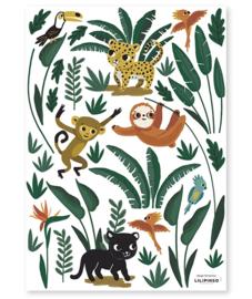 LILIPINSO | Muursticker jungle dieren