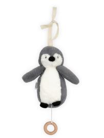 JOLLEIN | Muziekmobiel Pinguïn storm grey
