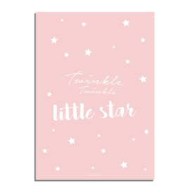 DESIGN CLAUD | Poster Twinkle Twinkle Little Star A3