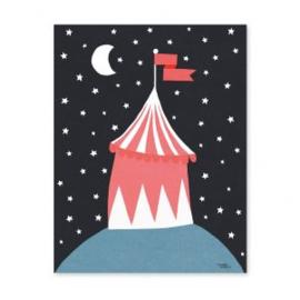 MICHELLE CARLSLUND | Poster Circus tent