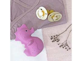 TIKIRI TOYS | Bijt- en badspeelgoed met rammelaar - Zeepaardje