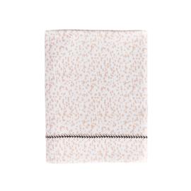 MIES & CO BABYLIFESTYLE | Ledikant laken 110 x 140 - wild child pink