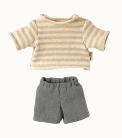 MAILEG   Kleding voor knuffelbeer Teddy Junior - broek en trui