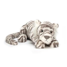 JELLYCAT | Knuffel Sacha Snow Tiger - Sneeuw tijger