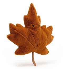 JELLYCAT | Knuffel Woodland maple leaf - esdoorn blad