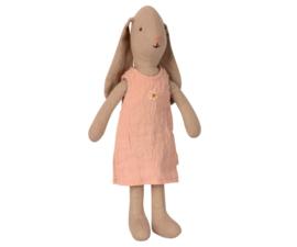 MAILEG | Konijn jurk roze - size 1 - 22 cm
