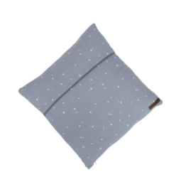 LITTLE DUTCH | Kussen Little Stars blauw