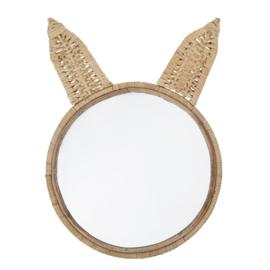 BLOOMINGVILLE MINI | Spiegel rotan konijn