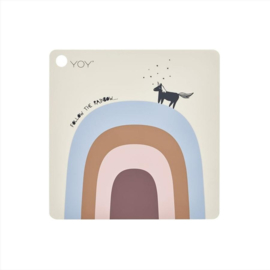 OYOY MINI | Placemat regenboog  'follow the rainbow'