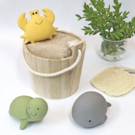 TIKIRI TOYS | Bijt- en badspeelgoed met rammelaar - Walvis
