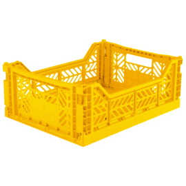 AYKASA FOLDING CRATE | Midi box Yellow