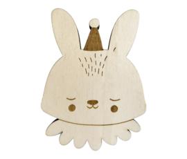 EEF LILLEMOR | Wandhaakje Circus Bunny