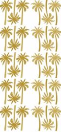 PÖM LE BONHOMME | Muurstickers Palmboom Goud