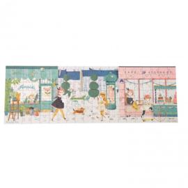 MOULIN ROTY   Puzzel 'In de straat' Les Parisiennes (140 st)