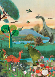 Grootzus | Poster Dino