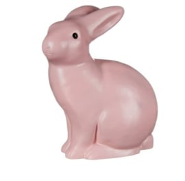 HEICO | Figuurlamp konijn vintage roze