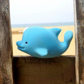 TIKIRI TOYS | Bijt- en badspeelgoed met rammelaar - Dolfijn