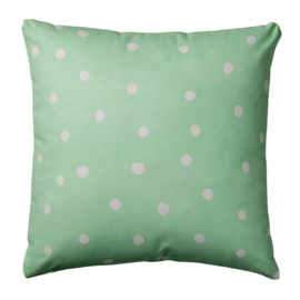 BLOOMINGVILLE MINI | Kussen stippen mint (50x50)