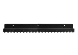 EINA DESIGN | Wandplank zwart (50 cm)