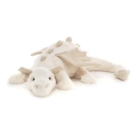 JELLYCAT | Knuffel Snow dragon - Sneeuw draak