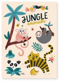 MICHELLE CARLSLUND | Poster Jungle animals