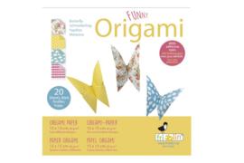 FRIDOLIN | Origami papier set vlinder