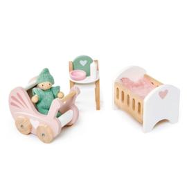 TENDER LEAF TOYS | Poppenhuis meubels babykamer