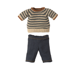 MAILEG   Kleding knuffelbeer Teddy Dad -  broek en trui