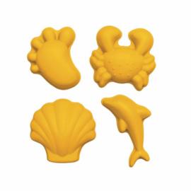 SCRUNCH | Zandvormpjes geel