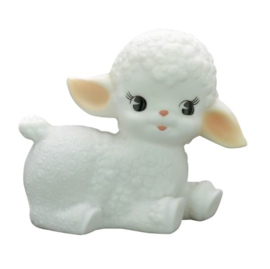 LAND OF KIDS WOOLY LAMB NACHTLAMPJE WIT