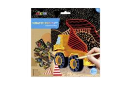 AVENIR | Krasplaatjes Bouwen (8 st) | Creatief speelgoed