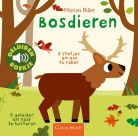 KINDERBOEK | Bosdieren geluidenboekje (1+)