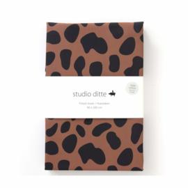 STUDIO DITTE | Hoeslaken Jaguar vlekken  - 1 persoon