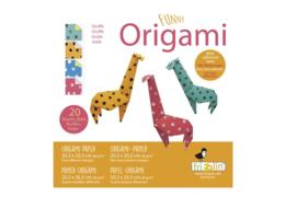 FRIDOLIN | Origami papier set giraf