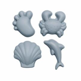 SCRUNCH | Zandvormpjes grijsblauw