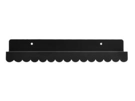 EINA DESIGN |Wandplank zwart (29 cm)