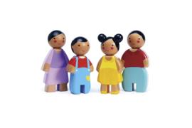 TENDER LEAF TOYS | Poppenhuis poppenfamilie Sunny