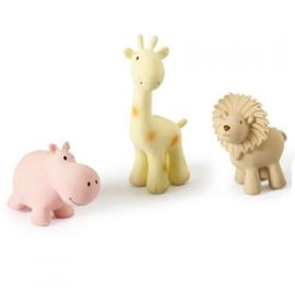 TIKIRI TOYS | Bijt- en badspeelgoed met rammelaar - Nijlpaard