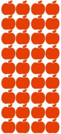 PÖM LE BONHOMME | Muursticker appels rood