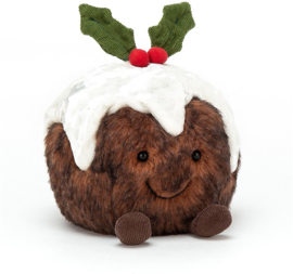 JELLYCAT | Knuffel Amuseable christmas pudding
