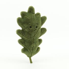 JELLYCAT   Knuffel Woodland oak leaf - little - eiken blad