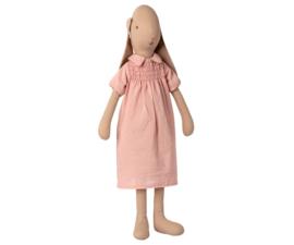 MAILEG | Konijn roze jurk - size 4 - 55 cm