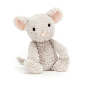 JELLYCAT | Knuffel Tumbletuft mouse - muis