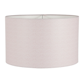 LITTLE DUTCH HANGLAMP WAVES PINK