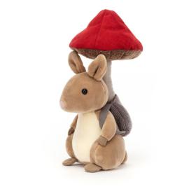 JELLYCAT | Knuffel Fungi Forager Bunny - konijn