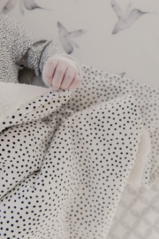 MIES & CO BABYLIFESTYLE | Ledikantdeken big cozy dots off white